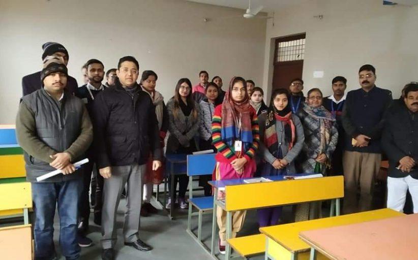 एमएलसी चुनाव: विनय को हाथोहाथ ले रहे युवा शिक्षक, खूब मिल रहा समर्थन