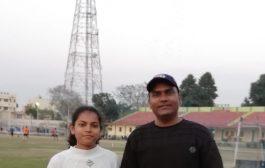 शुभि का उत्तर प्रदेश की अंडर-16 गर्ल्स टीम में चयन, बढ़ाया बरेली का मान