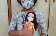 इशिता की गुड़िया ने तो अश्मित के बैट ने पहना मास्क
