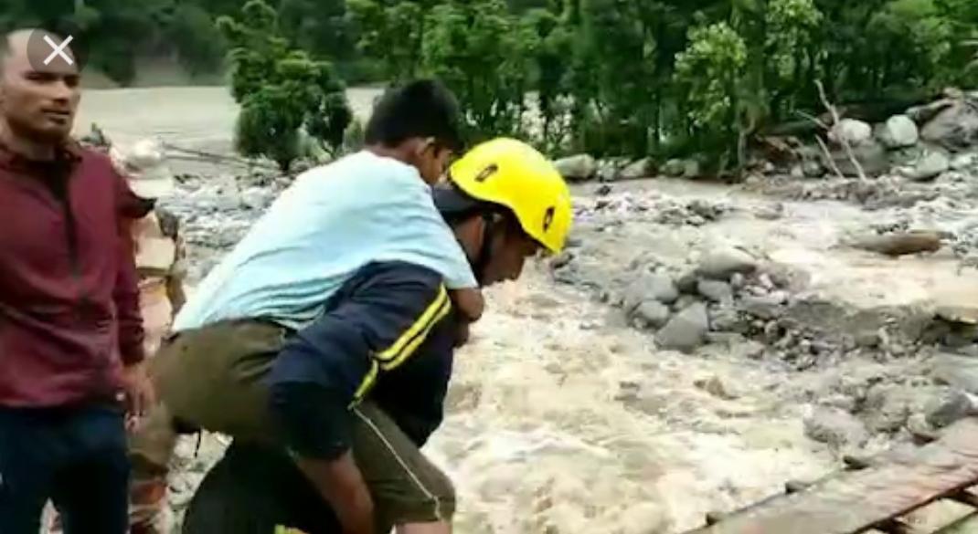पिथौरागढ़ में भारी बारिश में बह गया आईटीबीपी का जवान, भाई का हुआ यह हाल