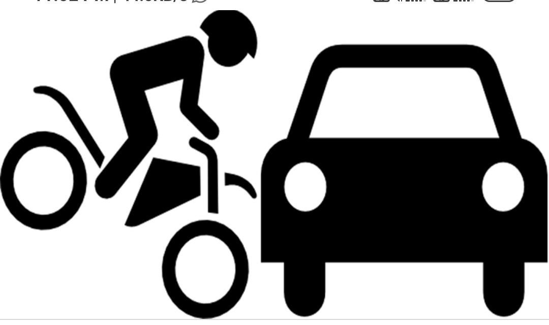 हाईकोर्ट के जज की गाड़ी में बाइक सवार ने मारी टक्कर, पहले भरी हामी फिर हर्जाना भरने से मुकरा। यह हुई कार्रवाई