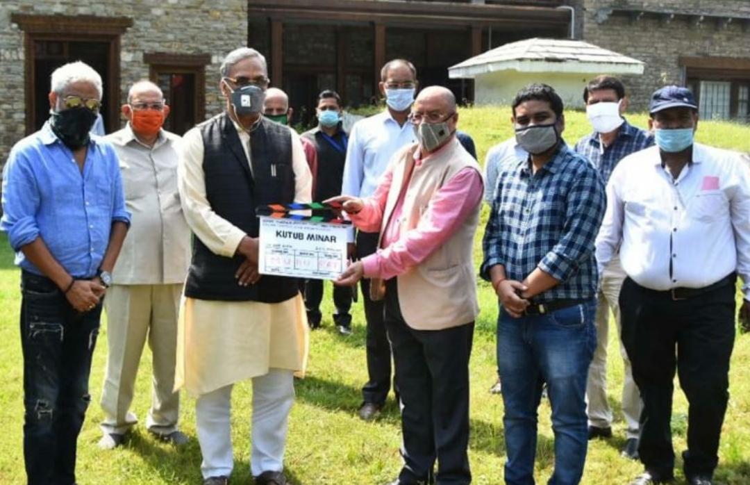 उत्तराखंड में होगी 'कुतुबमीनार' फिल्म की शूटिंग, सीएम ने मुहूर्त शॉट पर की फ़िल्म नीति पर यह बड़ी घोषणा