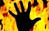 लाॅकडाउन से बेरोजगार ईट-भट्टे के मुंशी ने परिजनों संग आग लगाई। पति, पत्नी व दो बच्चे जिंदा जले