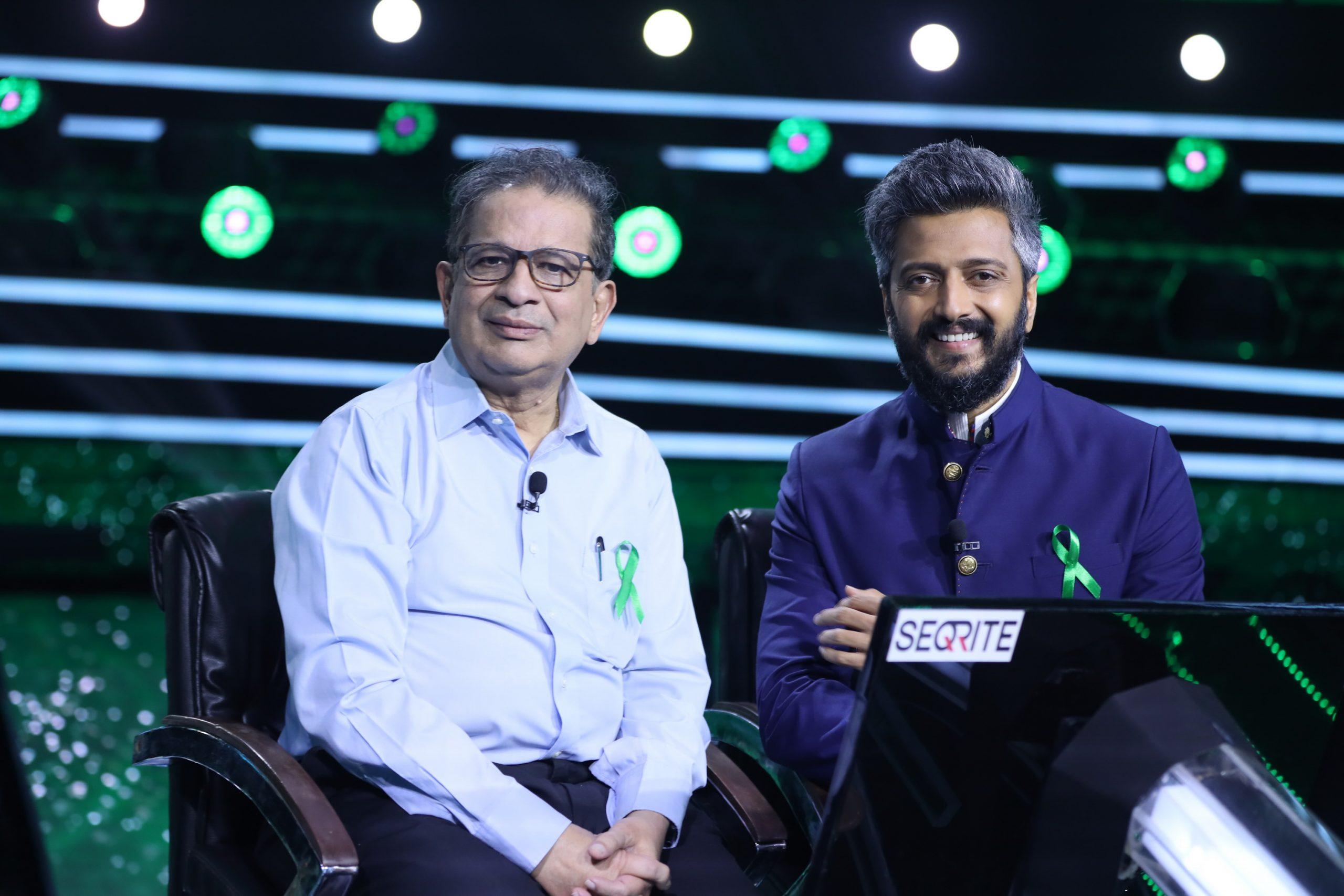 केबीसी के करमवीर स्पेशल एपिसोड में अंगदान को लेकर रितेश देशमुख ने बताई अपने दिल की बात