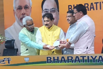 12 सितंबर को राजकुमार ठुकराल ने दिल्ली में भाजपा की सदस्यता ली थी।
